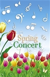 Spring Concert Tulips & Notes Program Covers