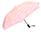 Sheet Music Pink Blush Compact Umbrella