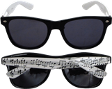 Music Notes Sunglasses