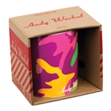 Andy Warhol Camouflage Quote Mug