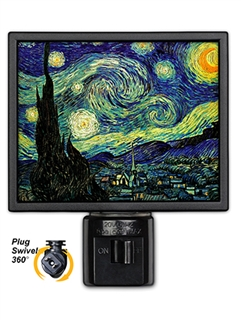 Van Gogh Starry Night Light