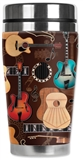 Guitars Tall Travel Mug