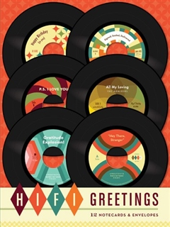 Hi-Fi Greeting Cards Set of 12