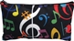 Bright Notes and Clefs Cosmetic and Tools Bag