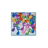 Fanci-Fetti Multi-Color Musical Notes Confetti