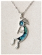 Abalone Kokopelli Necklace