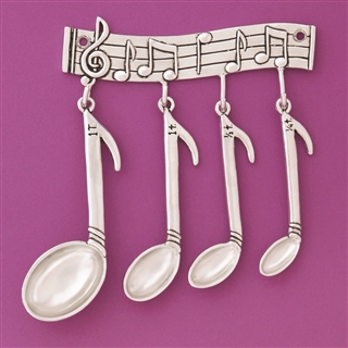 Musicality Measuring Spoons Set