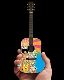 Jimi Hendrix Miniature Acoustic Guitar