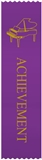 Piano Purple 'Achievement' Ribbons, Set of 10