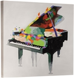Piano Palette Oil on Canvas