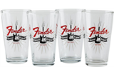 Fender Strat Burst Pint Glasses