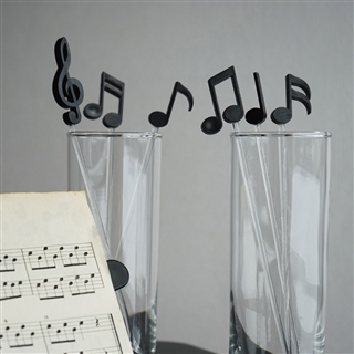 Lively Notes Beverage Stirrers, Set of 6