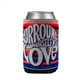 Woodstock 'Surround Yourself With Love' Can Cooler