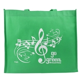 """Go Green"" Recycled Shopping Tote"