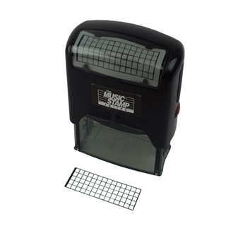 Guitar 5 Fret Self-Inking Stamp Small