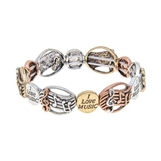 I Love Music Flex Bracelet