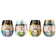 Nutcracker Suite Wine Glasses, Set of 4