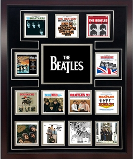 Beatles 'Classic Album Covers' Limited Edition Lithograph
