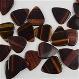 Tiger's Eye sTone Pick Picks