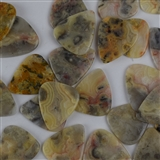 Crazy Agate sTone Pick Picks