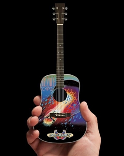 Journey Escape Tribute Miniature Acoustic Guitar