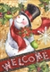 Holly Jolly Holiday Garden Flag