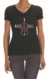 Rhinestone 'Rock-N-Roll' Women's Tee