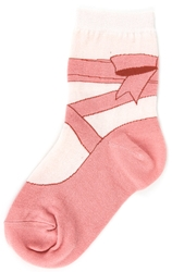 Children's Ballet Slipper Socks