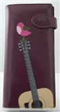 Songbirds and Guitar Purple Wallet