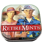 Retire-Mints Tin with Peppermints