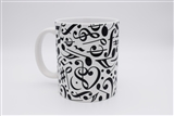 Music Symbols Collage Mug