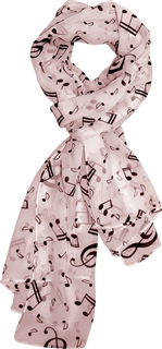Music is the Fashion Scarf