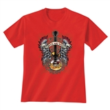 Guitar with Wings T-Shirt