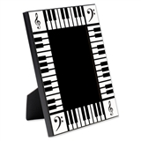 B&W Keyboard Picture Frame