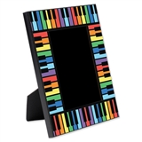 Colorful Keyboard Picture Frame