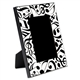 Black Notes & Clefs Picture Frame