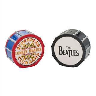 The Beatles Drums Salt & Pepper Shakers