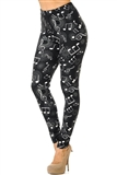 Midnight Magic Musical Notes Leggings