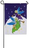 Angels Among Us Light and Sound Garden Flag