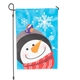 Frosty the Snowman Music and Lights Garden Flag