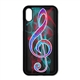 Vibrant Treble Clef iPhone Case