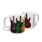 4 Guitars Coffee Mug Coffee Mug