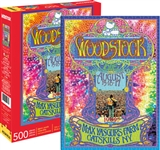 Woodstock 3 Days of Peace and Music Poster Puzzle