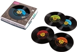 Classic 45 Record Coasters, Set of 4