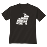 Noteworthy Bunny Child's T-Shirt