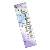 Sing in the Present Bookmark
