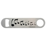 Music Notes Bottle Opener