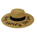 Here Comes the Sun Fashion Hat