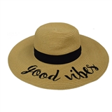 Good Vibes Fashion Hat