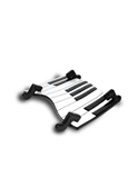 Noteworthy Piano Keys Trinket Tray